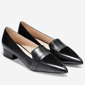 Cole Haan Marlee Skimmer flat shoes black 8.5